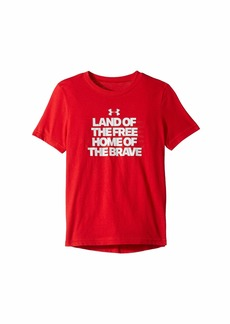 Under Armour Land Of The Free Tee (Big Kids)