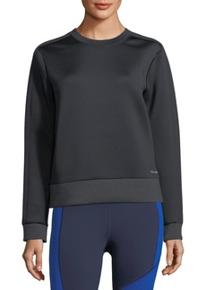 Under Armour Luster Crewneck Long-Sleeve Sweatshirt