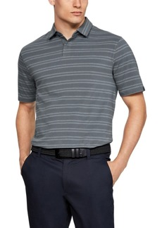 Under Armour Men's Ua Charged Cotton Scramble Stripe Polo
