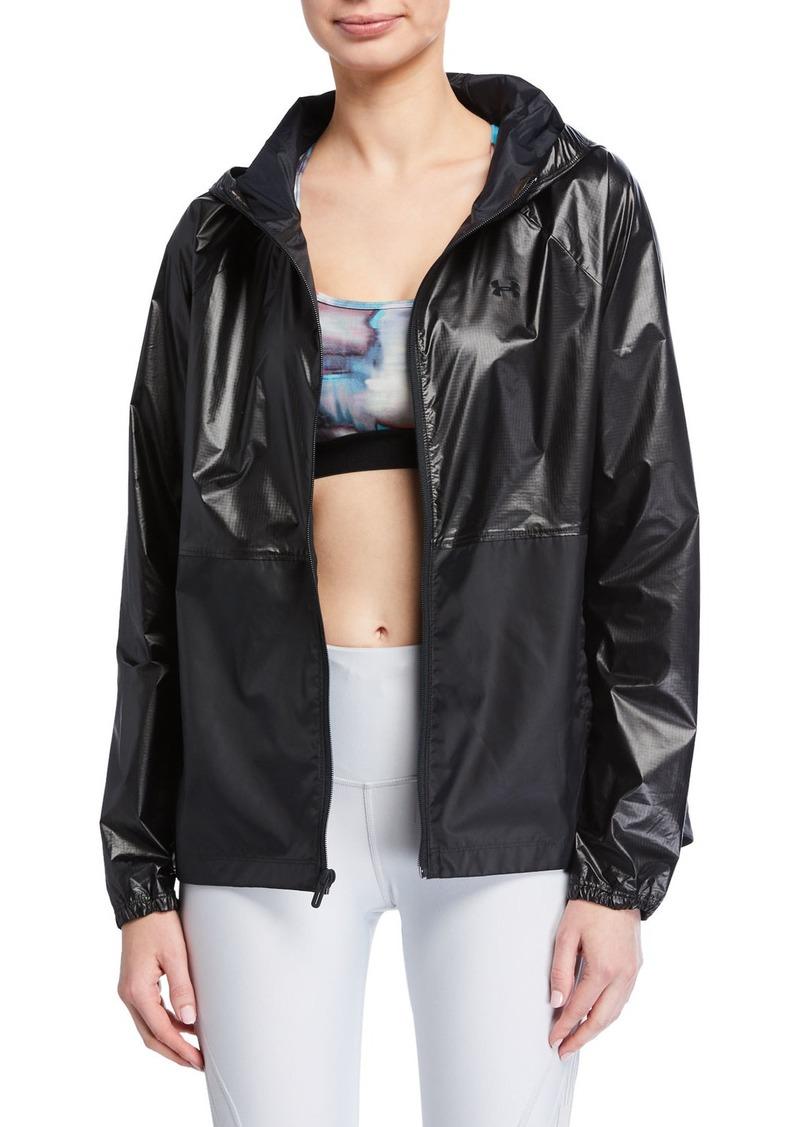Under Armour Metallic Woven Jacket