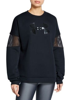 Under Armour Move Light Crewneck Pullover w/ Mesh