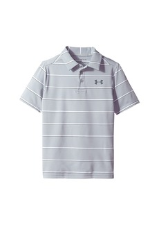 Under Armour Playoff Stripe Polo (Big Kids)