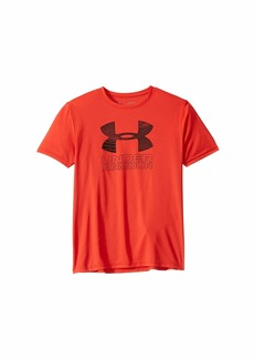 Under Armour Print Fill Logo Tee (Big Kids)