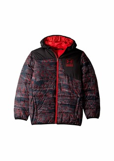 Under Armour Print Swarmdown Hooded Jacket (Big Kids)