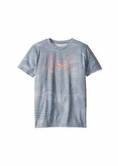 Under Armour Printed Big Logo Tee (Big Kids)