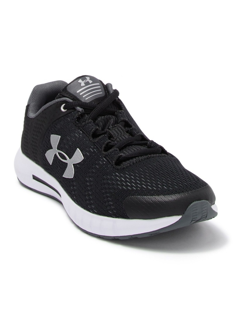Under Armour Pursuit Knit Sneaker (Big Kid)
