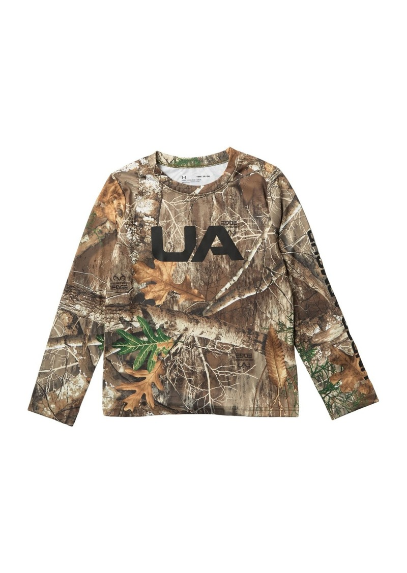 Under Armour Real Tree Edge Long Sleeve Tee (Big Boys)