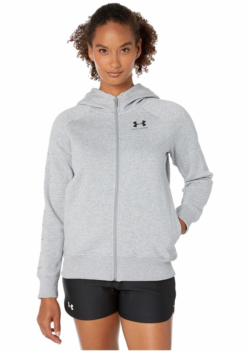 Under Armour Rival Fleece Sportstyle LC Sleeve Graphic Full Zip