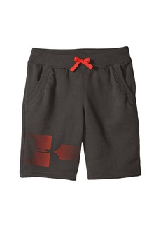 Under Armour Rival Graphic Fleece Shorts (Big Kids)