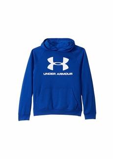 Under Armour Rival UA Logo Hoodie (Big Kids)