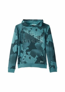 Under Armour Rival Wordmark Hoodie (Big Kids)