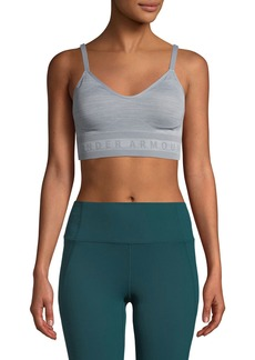 Under Armour Seamless Longline Heathered Sports Bra