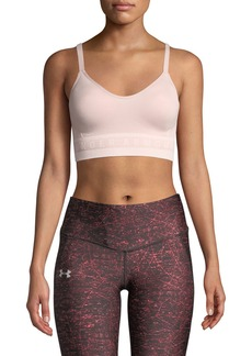 Under Armour Seamless Longline Sports Bra