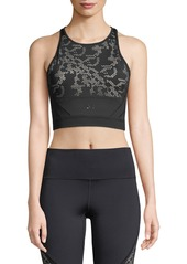 Under Armour Signature Lace Performance Crop Top