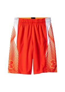 Under Armour Space The Floor Novelty Shorts (Big Kids)
