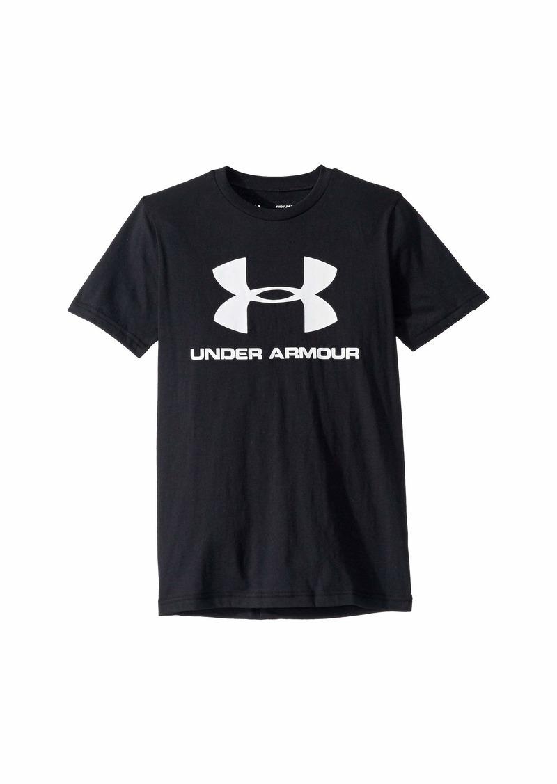 Under Armour Sportstyle Logo Short Sleeve (Big Kids)
