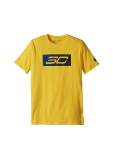 Under Armour Steph Curry 30 Logo Short Sleeve Tee (Big Kids)