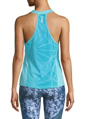 Under Armour Swyft Racerback Running Tank  Blue