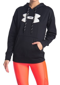 Under Armour Synthetic Fleece Chenille Logo Hoodie