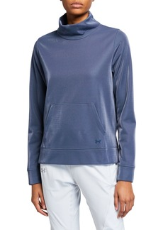 Under Armour Synthetic Fleece Mock Mirage Sweatshirt