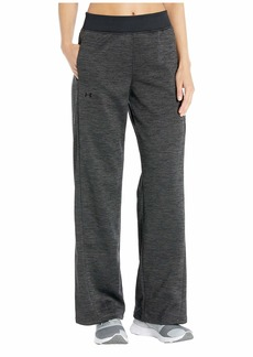 Under Armour Synthetic Fleece Open Hem Pants