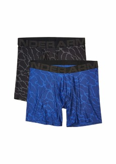"""Under Armour Tech 6"""" Boxerjock® 2-Pack Novelty"""