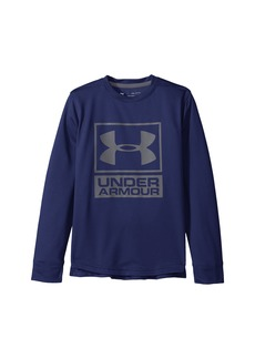 Under Armour Textured Tech Crew (Big Kids)
