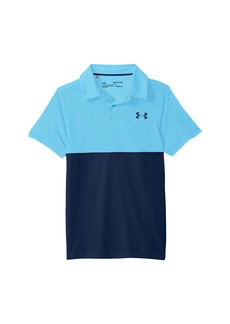 Under Armour Threadborne Blocked Polo (Big Kids)