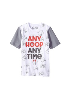 Under Armour UA Any Hoop Any Time Short Sleeve Tee (Big Kids)