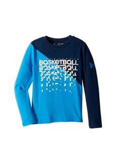 Under Armour UA Basketball Repeat Long Sleeve Tee (Big Kids)