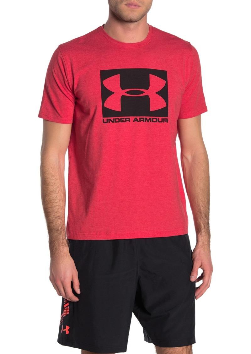 Under Armour UA Boxed Wordmark Short Sleeve T-Shirt