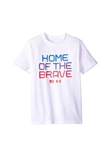 Under Armour UA Home Of The Brave Short Sleeve Tee (Big Kids)