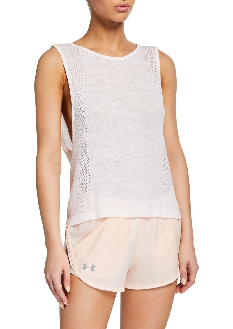 Under Armour UA Vanish Seamless Mesh Muscle Tank