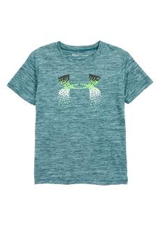 Under Armour Under Armor Pixel Fade Logo HeatGear® T-Shirt (Toddler Boys & Little Boys)