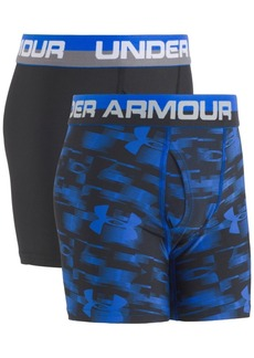 Under Armour 2-Pk. Boxer Briefs, Big Boys