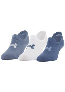 Under Armour 3-Pk. No-Show Women's Socks