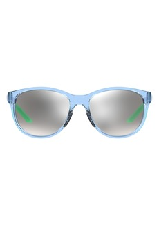 Under Armour 57mm Mirrored Round Sunglasses