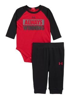 Under Armour Always Winning Bodysuit & Pants Set (Baby Boys)