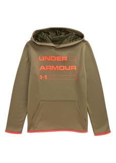 Under Armour Armour Fleece Logo ColdGear® Hoodie (Big Boys)