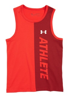 Under Armour Athlete HeatGear® Charged Cotton® Tank Top (Big Boys)