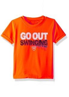 Under Armour Baby Boys Attitude SS Tee Shirt Magma Orange su192 18M