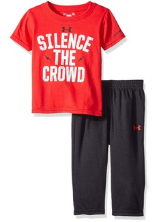 Under Armour Baby' Short Sleeve Tee and Pant Set