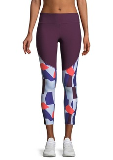 Under Armour Balance Novelty Printed Cropped Performance Leggings