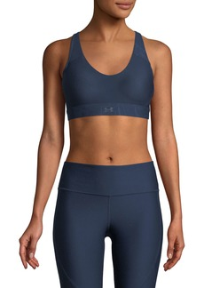 Under Armour Balance Scoop-Neck Mid-Impact Sports Bra