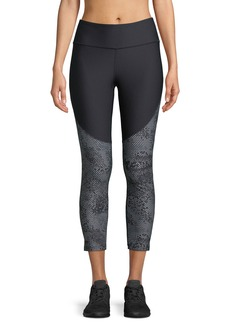 Under Armour Balance Vanish Printed Cropped Performance Leggings