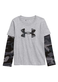 Under Armour Bandit Camo Layered Sleeve T-Shirt (Toddler Boys & Little Boys)