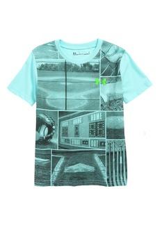 Under Armour Baseball Days Graphic HeatGear® T-Shirt (Toddler Boys & Little Boys)