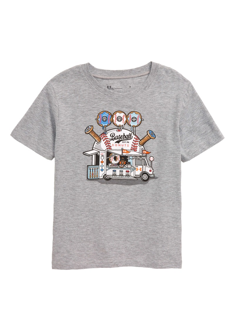 Under Armour Baseball Donuts HeatGear® Graphic T-Shirt (Toddler Boys & Little Boys)