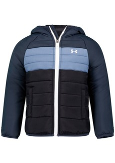 Under Armour Toddler Boys Pronto Colorblock Puffer Hooded Jacket