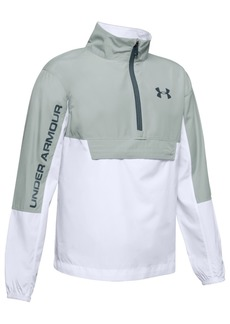 Under Armour Big Boys Woven Colorblocked Anorak